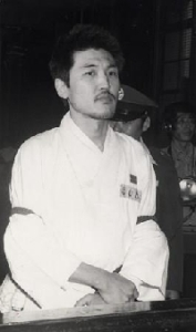 Kim Chiha while in prison